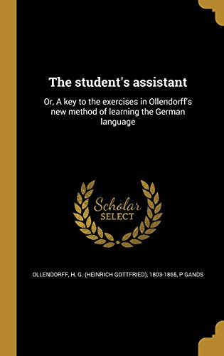 GER-THE STUDENTS ASSISTANT