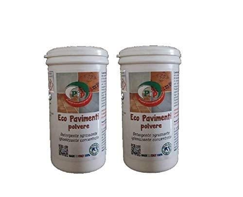 PiP Eco Pavimenti conf.x 2 BR.gr.250 Polvere detergente sgrassante igieneizzante superconcentrata