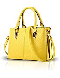 Womens Bolso Top-Handle Bag Yellow Springfield