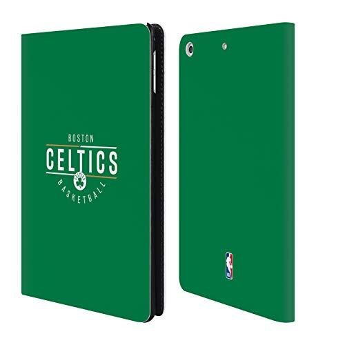 Head Case Designs Offizielle NBA Logotyp 2018/19 Boston Celtics Brieftasche Handyhülle aus Leder für iPad Mini 4 Boston Celtics Mini