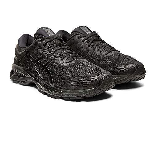 ASICS Herren Gel-Kayano 26 Laufschuhe, Schwarz Black 002, 48 EU - Shoes Winter Running Asics