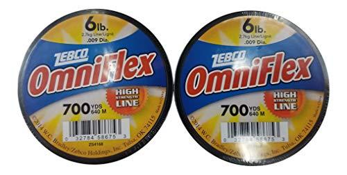 Generic Zebco Test Omniflex Monofile Angelschnur, hohe