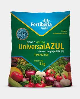 Engrais granulé fertiberia 2,5 kg universel bleu pour tous types de plantes