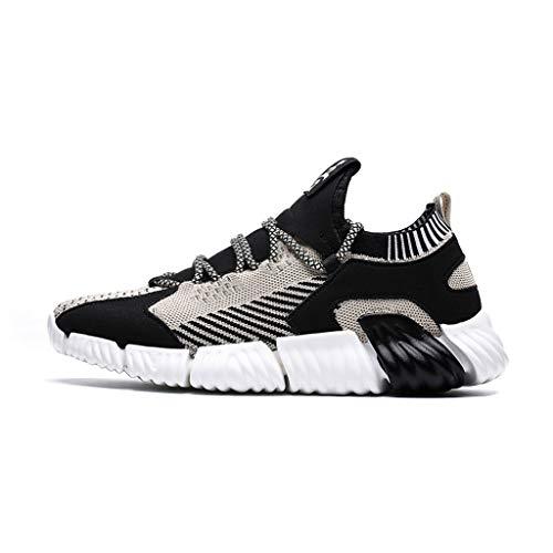 HROIJSL Herren Mode Wilde Farbe passend zu Freizeitschuhen Bequeme atmungsaktive Low-Top Sneakers Shoes Leichtes Bequem Schuhe Straßenlaufschuhe Casual Arbeitsschuhe Fitness