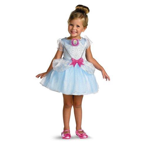 Ballerina Kleinkind Cinderella Kostüm - Disguise 177554 Cinderella Ballerina Kleinkind-Kind-Kost-m Gr--e: Kleinkind (3T-4T)