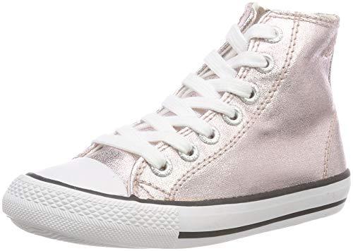 Lico Mädchen Gloss HIGH Hohe Sneaker, Gold Rosegold, 36 EU