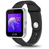 "SPC Smartee Slim - Smartwatch de 1.54"" (IPS, Linux, Bluetooth 4.0 BLE), plata"