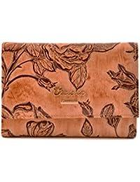 cd3f480cd9 CUOIERIA FIORENTINA Portafoglio donna Vitello stampato pelle beige P.M234. MIMI