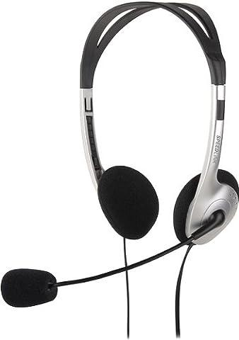 Speedlink Maia Casque avec Microphone et Télécommande Filaire (Fiche Jack 3,5Mm, 55 G)