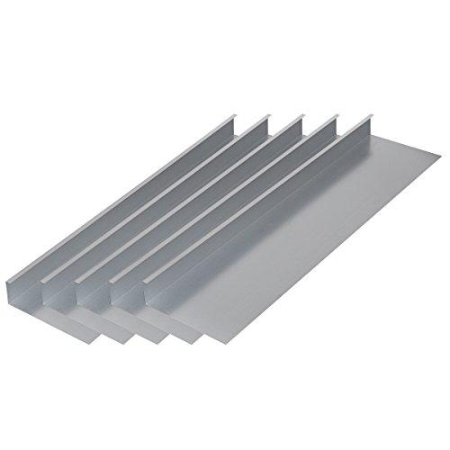 vidaxl-set-5-pz-recinzione-per-lumache-100-x-25-cm-in-acciaio-zincato