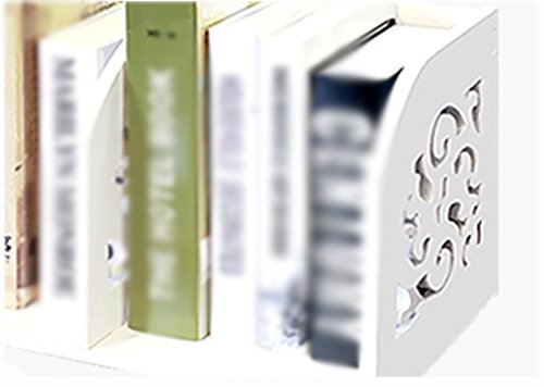 DFHHG® Librería Libro Stand Blanco Escritorio Oficina de Estudiantes Creative durable ( Tamaño : 60*22*24cm )