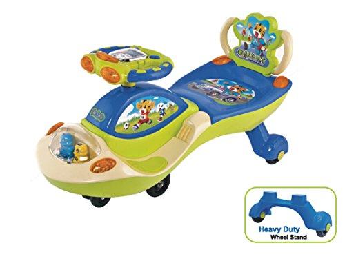 Ehomekart Galaxy Twist and Swing Magic Car, Green/Blue