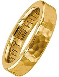 Tommy Hilfiger Damen-Ring DRESSED UP Edelstahl 54, gold