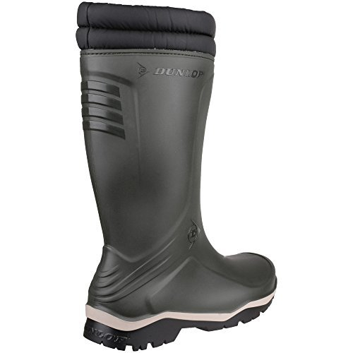 Dunlop Mens Blizzard Fur Lined Insulated Welly Wellington Boots by Dunlop