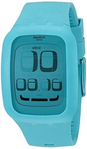 Swatch-SURS100-Reloj-analgico-de-cuarzo-unisex-con-correa-de-plstico-color-azul