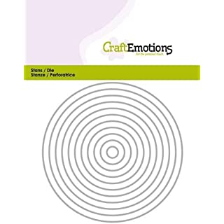 Stanzschablone - CraftEmotions Die - Kreise