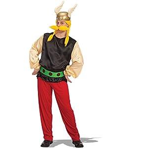 Carnival Toys - Disfraz vikingo en bolsa, talla única, color amarillo (80434)