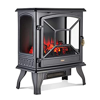 VonHaus Electric Stove Heater Fire Place / Fireplace 1850W