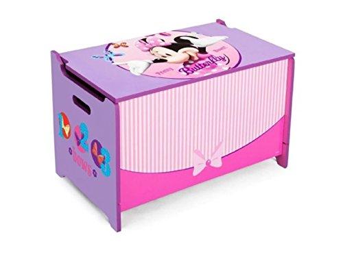 Baúl Minnie Mouse infantil de madera. Ref 12TB84878MN