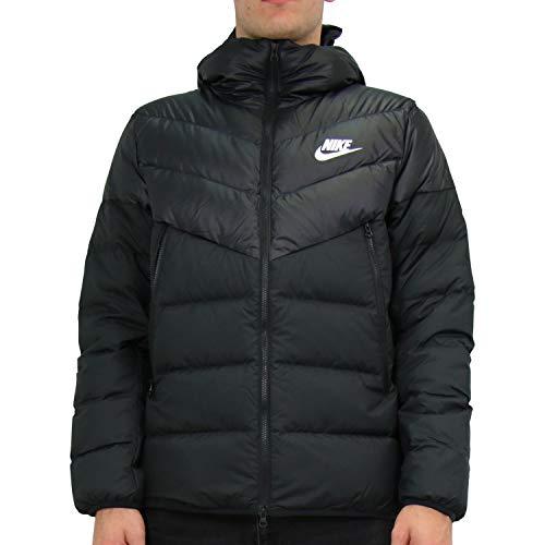 Nike Herren NSW Dwn Fill Wr Hd Jacken, Black/White, XS