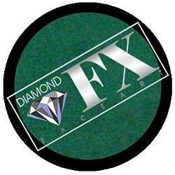 Diamond FX metálico recarga pintura de la cara - verde (10 gm)