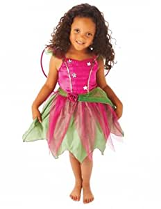 Christys Dress Up Mulberry Fairy Dress with Wings Costume (4 - 6 Years)