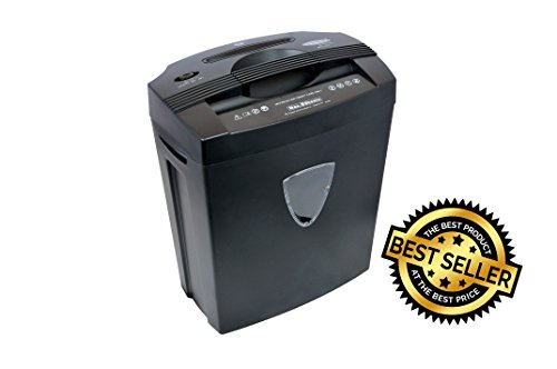 BAMBALIO 8 sheets Cross Cut Paper / Credit Card /CD Shredder with 1 yr warranty BCC-014