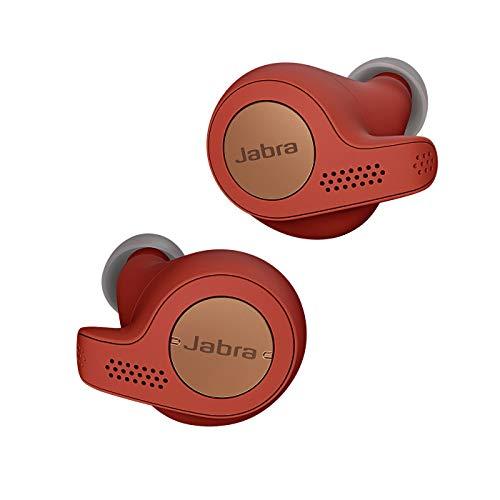 Jabra Elite 65t Active Cuffie Auricolari True Wireless, In-Ear, Bluetooth 5.0 con Custodia di Ricarica e Accesso One-Touch ad Amazon Alexa, Sport, Rosso/Rame