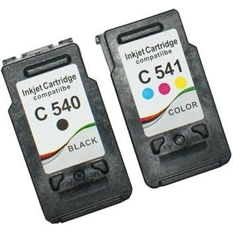Prestige Cartridge 2 x PG-540XL CL-541XL Cartuchos de tinta, color y negro