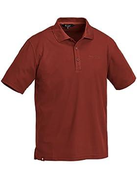 Pinewood Ramsey - Polo para hombre (punto piqué) rojo rojo Talla:S