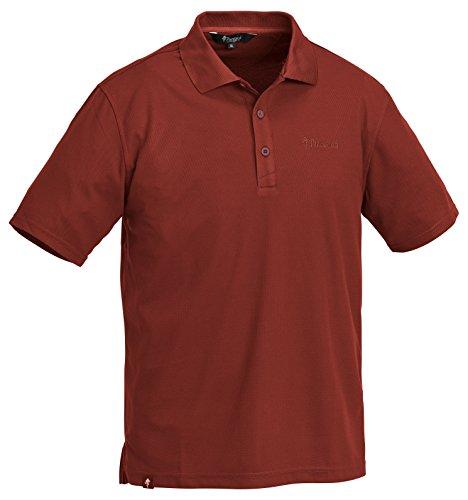 Pinewood Herren Poloshirt Ramsey Pique Shirt Rot