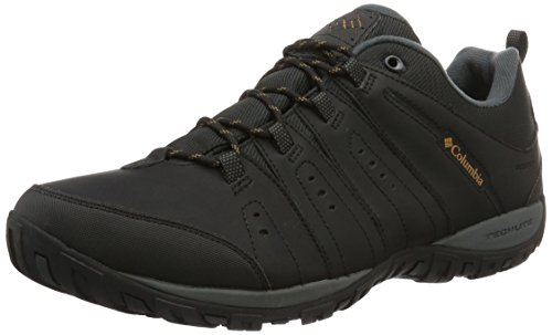 Columbia Peakfreak Nomad Waterproof, Chaussures Multisport Outdoor Homme Noir (Black/caramel 010)