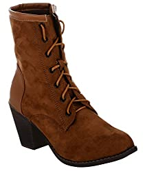 Shuz Touch TAN Boots (SIZE-41