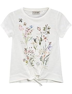 next Niñas Camiseta Con Detalle Anudado Parte Delantera Flores (3-16 Años) Estándar