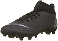 Idea Regalo - Nike Jr Superfly 6 Academy GS MG, Scarpe da Calcio Unisex-Bambini, Nero Anthracite-Black-Lt Crim 001, 37.5 EU