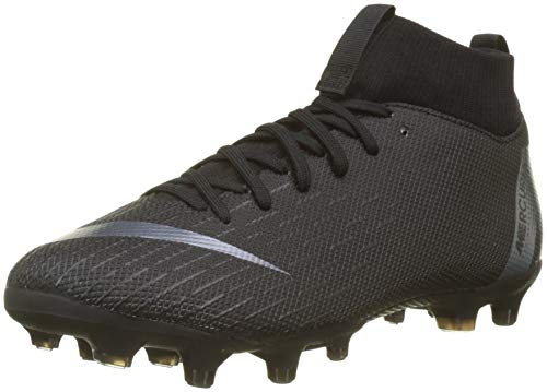 Nike Jr Superfly 6 Academy GS MG, Scarpe da Calcetto Indoor Unisex-Bambini, Nero (Black 001), 33 EU