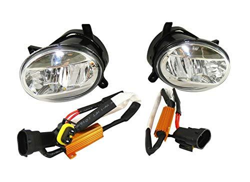 2x Klarglas Nebelscheinwerfer + Kabelsatz E4 LED L+R Satz Hochwertig Passgenau OVP Neu