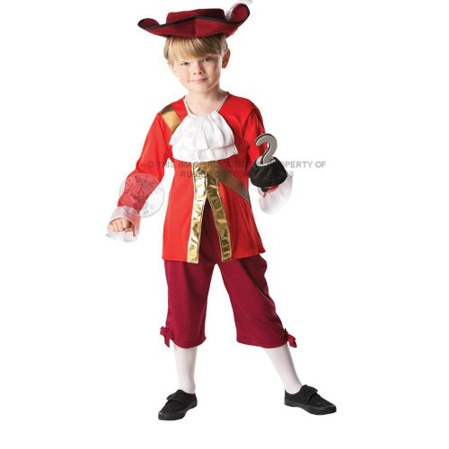 Disney Captain Hook Kostüm Kind - DISNEY ~ Captain Hook (Jake and