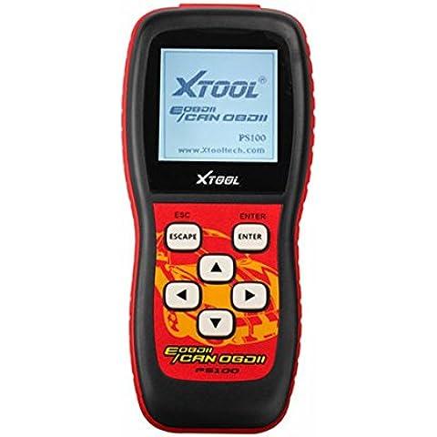 Xtool PS100 lettore di codici OBD II dati in diretta e test con componenti e monitor di bordo ripristinate le luci del motore chiare