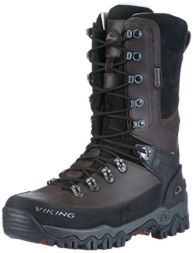 Viking Unisex-Erwachsene Hunter High GTX Jagdstiefel, Braun (Dark Brown), 48 EU