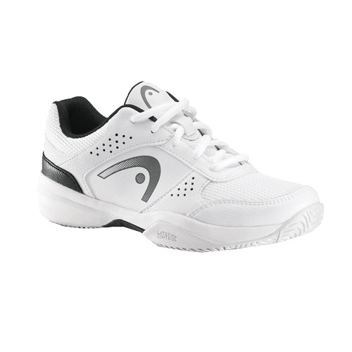 Head Kinder Tennisschuhe Schuhe LAZER JUNIOR weiß/schwarz Gr. 2,5 (34,5)