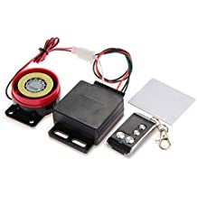 Impianto di allarme per moto con funzione antifurto con telecomando