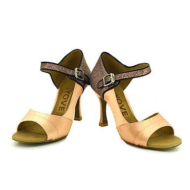 Ruhe @ Damen Beruf Dance Schuhe fuchsia