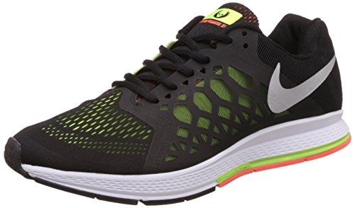 Nike Men's Air Zoom Pegasus 31 Black Running Shoes - 10 UK/India (45 EU)(11 US)(652925-021)  available at amazon for Rs.4497