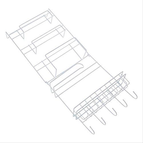 TIANFGCWJ Ablagefach Kühlschrank Hanging Rack Regal Side Storage Multi-Layer Seitenwand Halter Spice Rack Jar Flaschenhalter Wand Vorratsbehälter für Kit (Badezimmer Storage Jars)