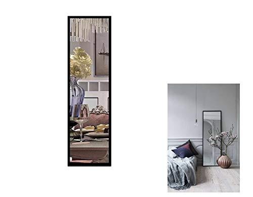 Dipamkar® 132cm x 40cm - Espejo de Cuerpo Entero, Espejo de Pared Rectangular,...