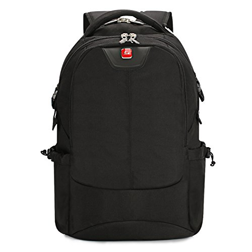 Soarpop WB4387MBK 17 Laptoprucksack Schwarz Backpack Rucksack (schwarz)