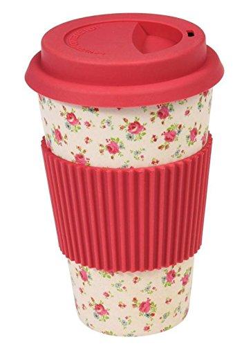 dotcomgiftshop Eco Coffe Cup 26631 Coffee To Go - Becher aus Bambus