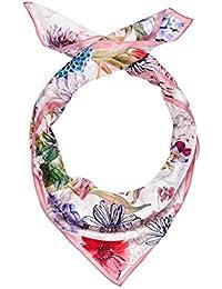 HALLHUBER Floral scarf made of silk chiffon