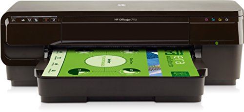 HP Officejet 7110 (CR768A) A3 Drucker (4800 x 1200 dpi, USB, WiFi, Ethernet, ePrint, Airprint, Cloud print) schwarz - Drucker Portable One In All